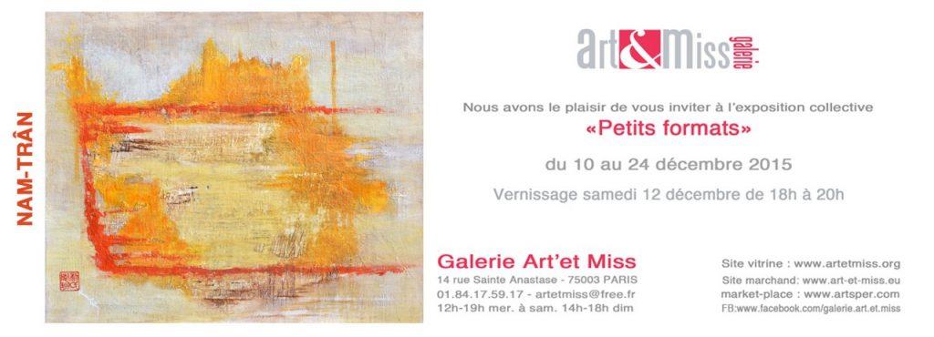 Expo - Petits formats - Art & Miss