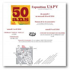 UAPV - Expo 50 ans
