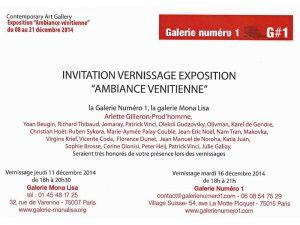 expo ambiance venitienne decembre 2014