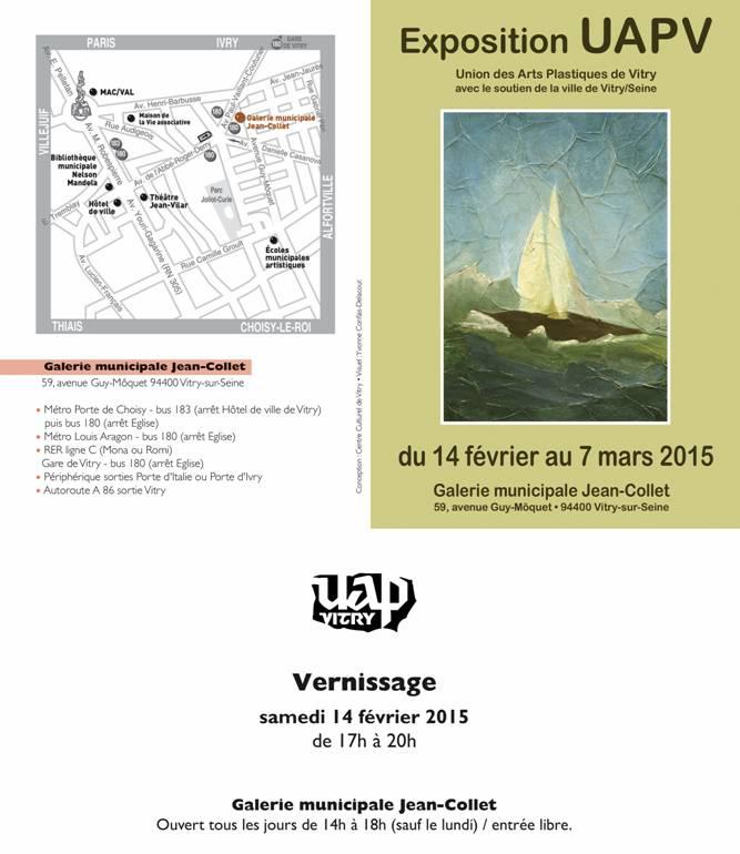 Expo – UAPV du 14 Février au 7 Mars 2015 – Vitry-sur-Seine