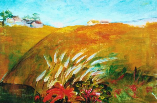 Au pied de la colline