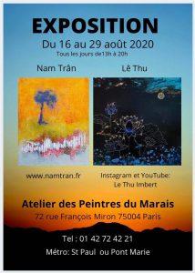 expo Atelier Les Peintres du Marais 2020-08-16_29